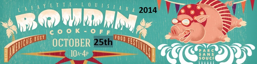 Boudin Cook-Off, October 19, 2013  -- Lafayette Louisiana